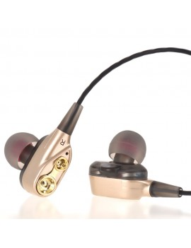 CJB C25 Wired In-line Control Earphone Sports Headset In-ear Earpieces with Mic Earbuds Headphone 3.5mm for Smartphones Tablets Desktops Laptops