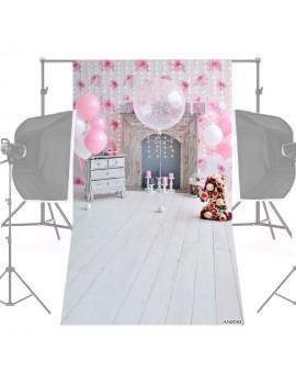 Andoer 1.5 * 0.9m/5 * 3ft Backdrop Photo Studio Pros