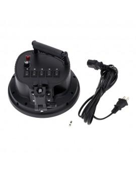 5 in 1 E27 Base Socket Light Lamp Bulb Holder Adapter