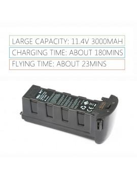 11.4V 3000mAh Spare Intelligent Modularized Lipo Battery for Hubsan Zino Pro GPS Drone