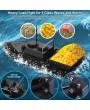 D11 RC Boat Fish Finder Fishing Bait Boat 1.5kg Loading 500m Remote Control Fixed Speed 2 Battery 2 Motors 2 Bait Bin 2 LED Light