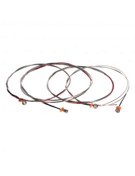 Alice A1000 Full Set (G-D-A-E) Double Bass Strings Steel Core Cupronickel Winding, 4pcs/set