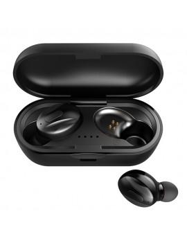 Bluetooth 5.0 TWS Earbuds True Wireless Headphones with Mic In-ear Earphones Twins Sports Headset CVC8.0 Noise Reduction Charging Box