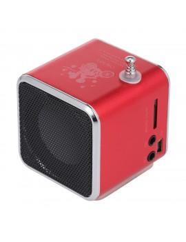 3.5mm Wired Mini Speaker Portable MP3 Player FM Radio Music Amplifier