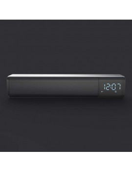 Bluetooth Soundbar Audio Player Wireless Speaker Subwoofer 3D Surround Speakers FM Radio Clock TF USB for Home TV PC