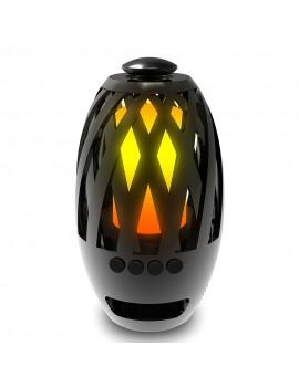 BTS-596 Flame Light Wireless BT 4.2 Speaker w/ 96 LED lights
