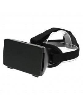 Andoer Google Cardboard Version 3D VR Glasses Virtual Reality DIY 3D VR Video Movie Game Glasses Head Mount with Headband for iPhone Samsung / All 3.5 ~ 6.5