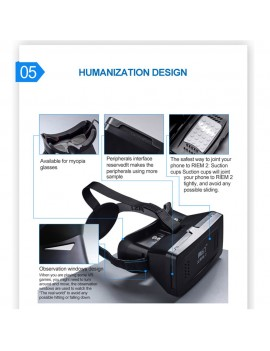 Best-selling Private 3D VR Glasses Virtual Reality DIY 3D Video VR Glasses with Magnetic Switch Hand Belt for All 3.5 ~ 6.0