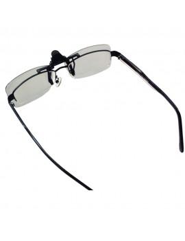 CL01 Clip-on Passive 3D Glasses Circular Polarized Lenses for Polarized TV Real D 3D Cinemas for Sony Panasonic