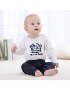 3Pcs Baby Pants Set 100% Cotton Unisex For Newborn Baby Infant 0-3M