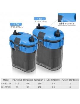 11.5W Aquarium Filter Canister Filter