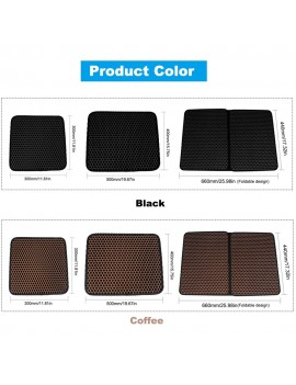 Cat Litter Mat Trapper Double Layer EVA Cat Litter Trapping Pad