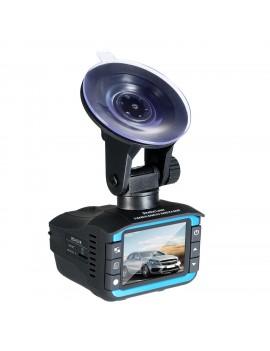 2in1 HD Car Hidden DVR Camera Recorder Radar Laser Speed Detector