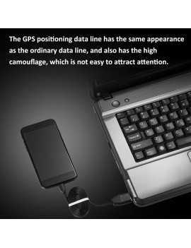 3-in-1 USB GPS GIM Locator Cable Remote Tracking Anti Lost Tracker  Spy Cable Android Port