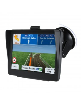 7 inch HD GPS Navigation System 8G Voice Guidance and Directional Speed Limit Alerts with 3D Europe Maps