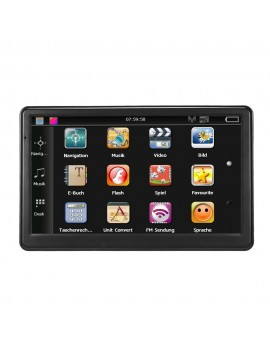 7 inch Car Portable GPS Navigator with Free Map