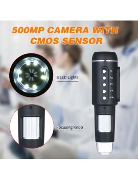 1000X Magnification 5M Pixels USB Digital Microscope