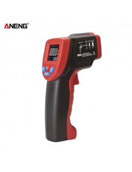 ANENG GM550B+ Non-contact Digital Infrared Thermometer Temperature Meter -50℃~550℃(-58℉~1022℉) Adjustable Emissivity with Color LCD Screen