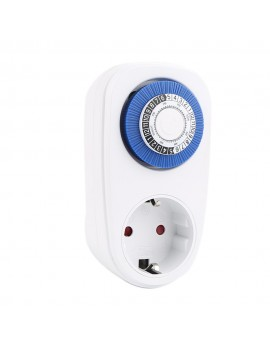 24 Hours Plug-in Timer Switch Mechanical Timing Socket Time Controller Intelligent Timing Socket