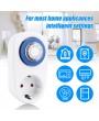 24 Hours Plug-in Timer Switch Mechanical Timing Socket Time Controller Intelligent Timing Socket