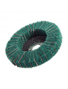 10pcs Nylon Abrasive Polishing Buffing Fiber Flap Wheel Disc Dia. 100mm Nylon Fiber Flap Polishing Wheel