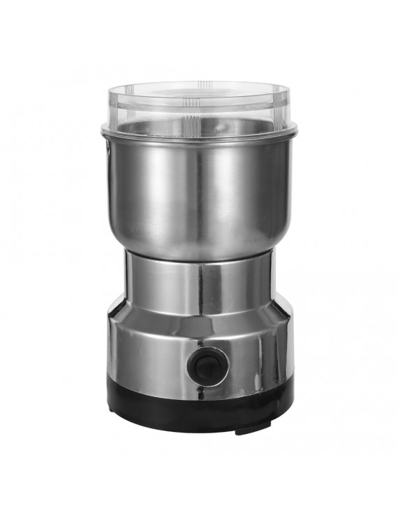 150W 300ml Stainless Steel Electric Coffee Machine Bean Grinder Blenders for Kitchen Office Home Use Grains Grinding Machine