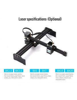 15W Laser Engraving Machine High Speed Mini Desktop Laser Engraver Printer