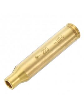 223REM 5.56mm Full Copper Laser Bore Sighter Red Laser Calibrator