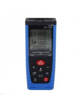 "CP-100 2.5"" Handheld Laser Distance Meter Rangefinder Black & Blue"