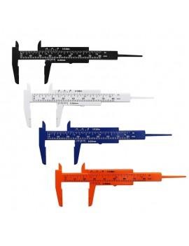 0-80mm Double Scale Mini Tool Vernier Caliper Black