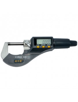 0-25mm Micron Electronic Micrometer Gauge 0.001mm Measuring Tool