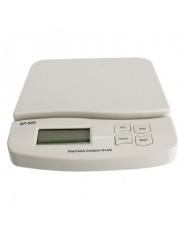 25Kg x 1g LCD Kitchen Diet Food Mail Postal Digital Scale with Auto Lock Reading SF-550
