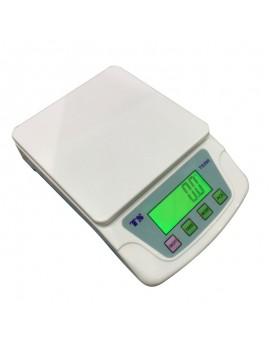 200 10KG/0.5G TS200 Portable Plastic Electronic Scale White