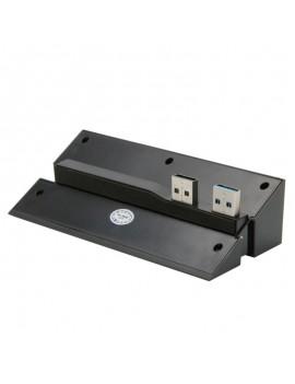 2-to-5 Port DOBE USB 2.0/3.0 USB Hub for PS4 - Black