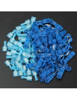30pcs T-Taps Quick Splice Wire Terminal Self-Stripping Quick Splice Electrical Wire Terminals & Female Spade Connector Set