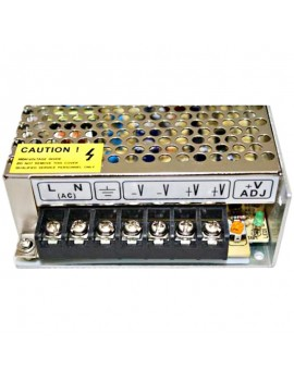 24V DC 6A 145W Switching Power Supply Silver